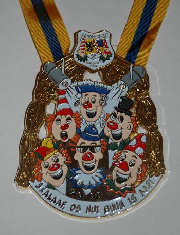 Carnaval Medaille